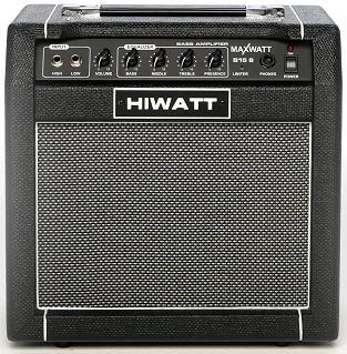 Обзор басового  комбика Hiwatt B15 8 Maxwatt